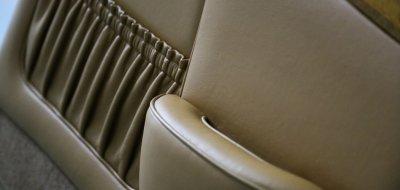 Rolls Royce Corniche 1973 front seat back pocket