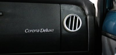 Toyota Corona air vent, passenger's side