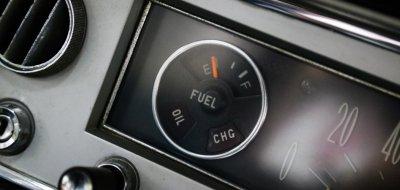 Toyota Corona fuel gauge