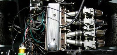 Triumph Herald 1965 engine
