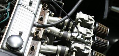 Triumph Herald 1965 engine closeup