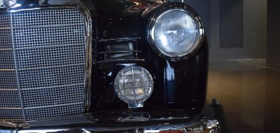 Front lights of Mercedes Benz 190 1960