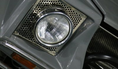 Headlight of Lamborghini LM002 1988