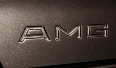 AMG logo of the Mercedes Benz 3,4 AMG CE300 1991
