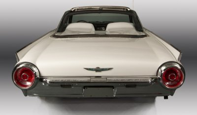 Ford Thunderbird 1962 rear view