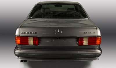 Mercedes Benz SEC560 AMG 1993 rear view