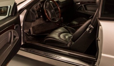 Mercedes Benz SL600 1998 Driver's seat