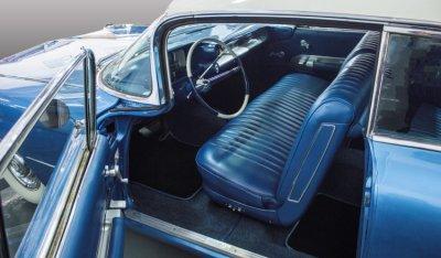 Cadillac De Ville 1959 interior