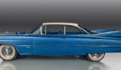 Cadillac De Ville 1959 side view - driver's side