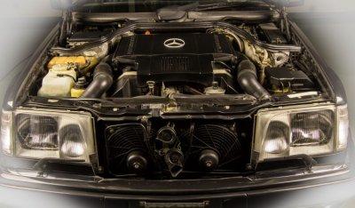 Mercedes Benz E500 1994 engine