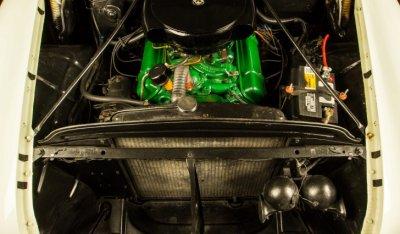 Oldsmobile 88 1956 engine - under the hood!