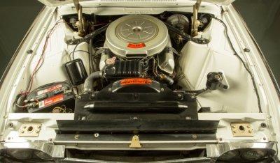 Ford Thunderbird 1962 engine - under the hood!