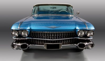 Cadillac De Ville 1959 front view