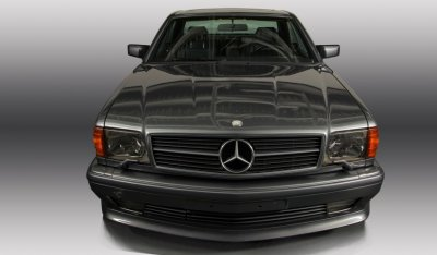 Mercedes Benz SEC560 AMG 1993 front view