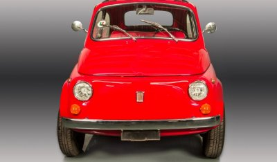 Fiat 500 1971 front view