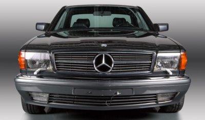 Mercedes Benz SEC560 1991 front view