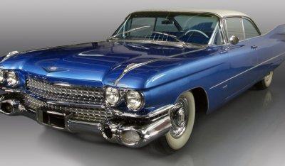 Cadillac De Ville 1959 front left view