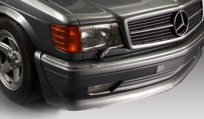 Mercedes Benz SEC560 AMG 1993 front left corner close up