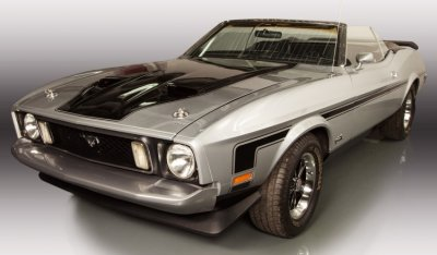 "Ford Mustang ""Boss"" 1973 front left view"