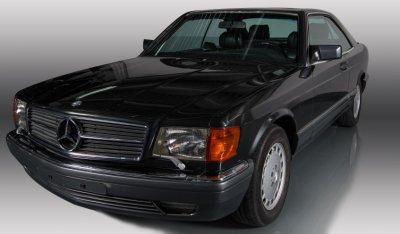 Mercedes Benz SEC560 1991 front right view