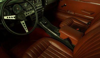 Jaguar E-Type 1971 interior