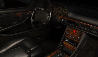Mercedes Benz SEC560 1991 interior