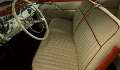 Oldsmobile 88 1956 interior