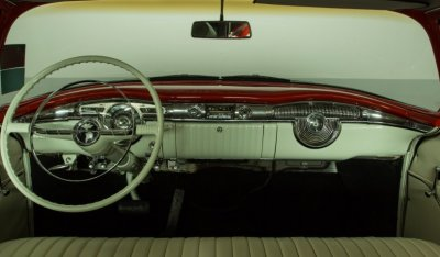 Oldsmobile 88 1956 front passengers