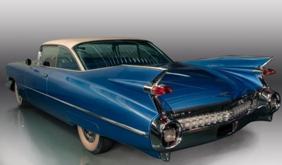 Cadillac De Ville 1959 rear left view