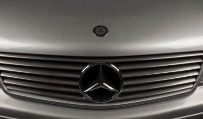 Mercedes Benz SL600 1998 hood emblem