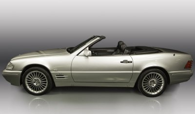 Mercedes Benz SL600 1998 Convertible