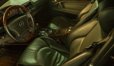 Mercedes Benz SL600 1998 Interior