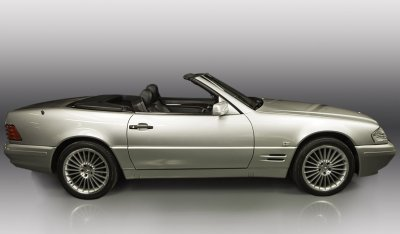 Convertible Mercedes Benz SL600 1998