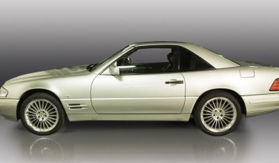 Mercedes Benz SL600 1998 side view