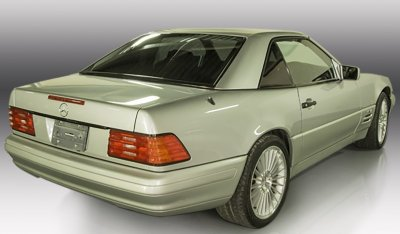 Mercedes Benz SL600 1998 rear right view