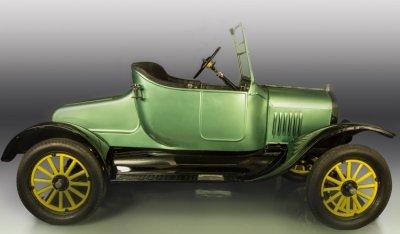 Ford Model T 1923 side view - passenger's side