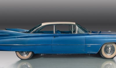 Cadillac De Ville 1959 side view - passenger's side