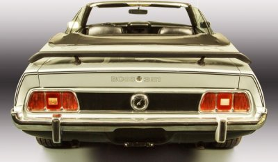 "Ford Mustang ""Boss"" 1973 rear view"