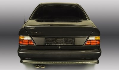 Rear view of the Mercedes Benz 3,4 AMG CE300 1991