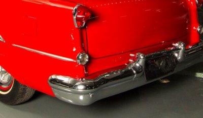 Oldsmobile 88 1956 rear left closeup view