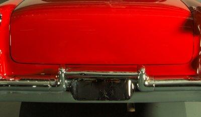 Oldsmobile 88 1956 rear closeup view