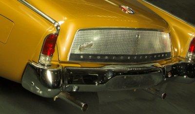 Studebaker Gran Turismo Hawk 1963 rear closeup view