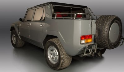 Lamborghini LM002 1988 rear left view