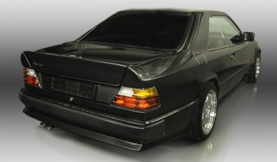 Rear right view of the Mercedes Benz 3,4 AMG CE300 1991