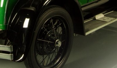 Ford Model A 1929 rear right closeup view