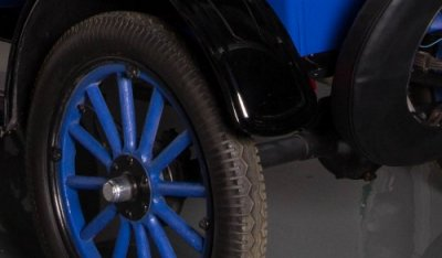 Ford Model T 1923 rear wheel
