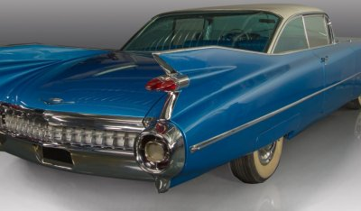 Cadillac De Ville 1959 rear right view