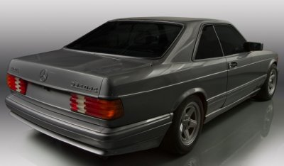 Mercedes Benz SEC560 AMG 1993 rear right view