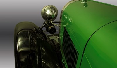 Ford Model A 1929 side closeup view