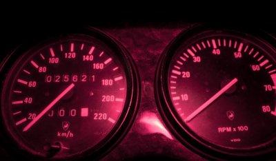 Lamborghini LM002 1988 speedometer
